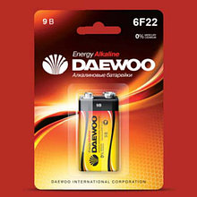 Батарейки DAEWOO 6LR61EA-2B