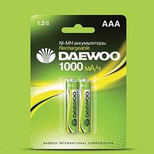 Аккумуляторные батарейки DAEWOO HR03-2B-1000