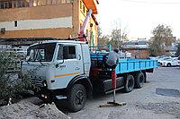 Услуга манипулятора установка КМУ 3 тонны длина 8метров шасси 10-12 тонн кузов 6 метров