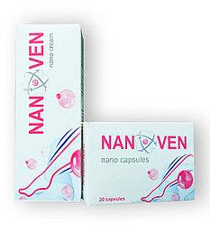 Nanoven - Комплекс от варикоза - Крем+ Капсулы (Нановен)