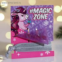 Аксессуары для волос на подложке #Magic Zone, 8 х 9,5 см