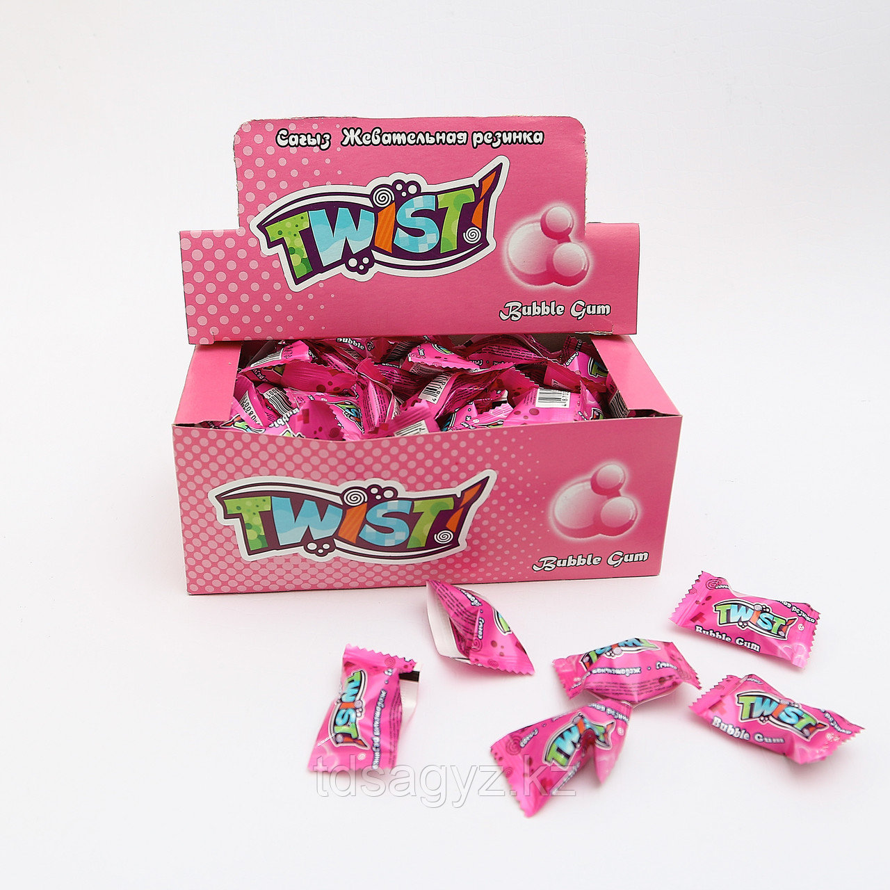 """""""Bubble gum"""" Twist!"""