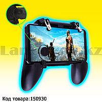 Джойстик геймпад игровой контроллер для телефона Mobile game controller W11+ черный