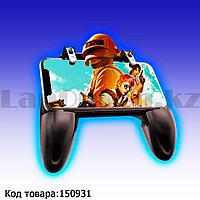 Джойстик геймпад игровой контроллер для телефона Mobile game controller W11 черный