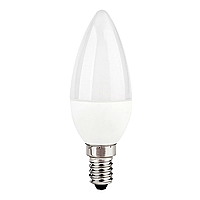 "Лампа LED C37 ""Свеча"" 4.5w 230v 4000K E14 MEGALIGHT"