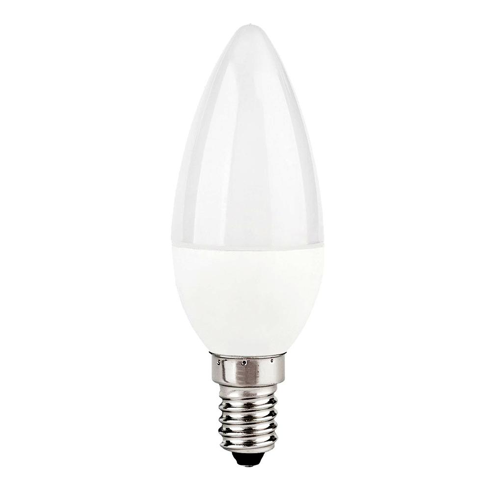 "Лампа LED C37 ""Свеча"" 10w 230v 4000K E14 MEGALIGHT"