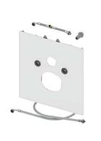 Стеклянная панель TECElux для установки унитазов-биде