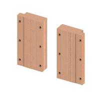Комплект деревянных пластин TECEprofil для крепления поручней безопасности