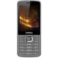 Мобильный телефон Nobby 330T серо-черный