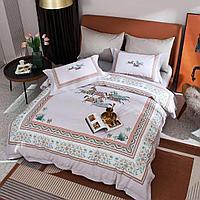 Комплект постельного белья двуспальный king-size сатин LUX