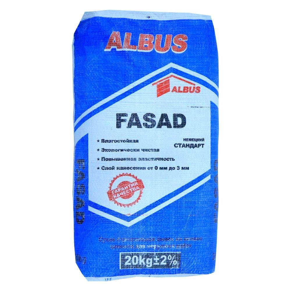 Шпатлевка FASAD ALBUS 20кг.
