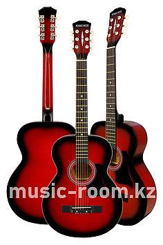 Гитара акустическая Ronnie wood AG38 RD