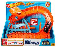 Трек Hot Wheels Viper Bridge Attack Атака Гадюки GJK88