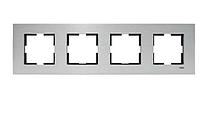 Рамка для розеток и выключателей NOVELA ELOX GUMUS4LU CERC