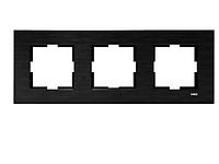 Рамка для розеток и выключателей NOVELLA ELXSIYAH3LUCERC