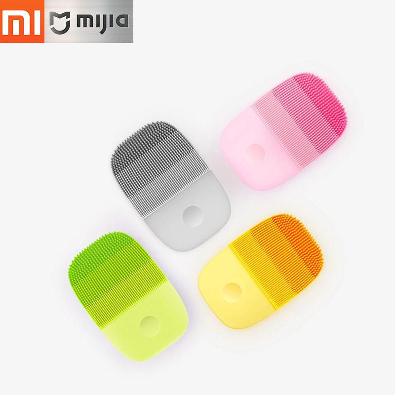 Массажёр для лица Xiaomi inFace Electronic Sonic Beauty Facial (оранжевый, зеленный, розовый)