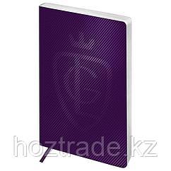 "Ежедневник недатир. A5, 136л., кожзам, Greenwich Line ""Royal book"", фиолетовый, серебр. cрез"