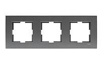 Рамка для розеток и выключателей NOVELLA FUME UCLU CERCEVE