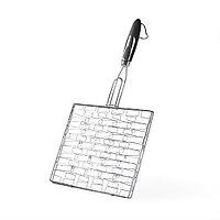 Решетка плоская 30x26,5x1,5 см с пластиковой ручкой