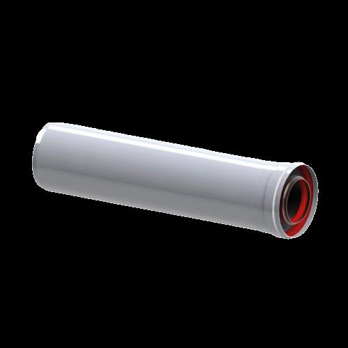 Коаксиальное удлинение L=500mm, ф60/100 (20шт/кор.)
