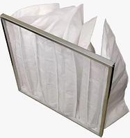 Фильтр вентиляционный карманный (ФВК) 592 * 287 * 25 G4