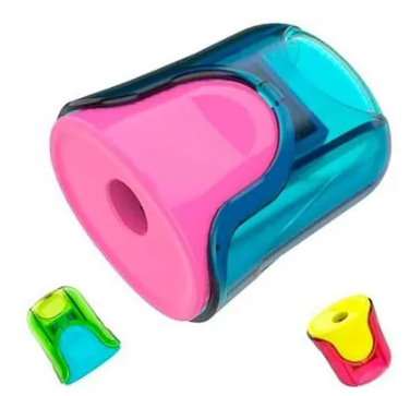 """Точилка DELI """"U-touch""""  пластмассовая, с контейнером"""