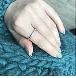 """Кольцо обручальное """"Алмазный песок 2"""" 2 мм, фото 3"""