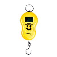 Портативные электронные весы WeiHeng (желтые)
