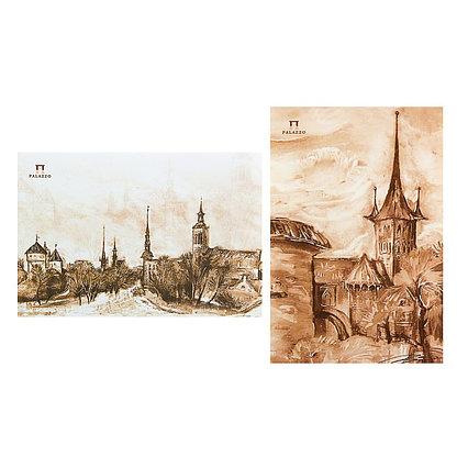 Планшет для акварели А5, 20 листов «Палаццо. Старый Таллин», блок 200 г/м²