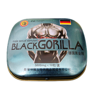 Black Gorilla (Черная Горилла) - Стимулятор потенции для мужчин