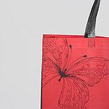 Сумка для покупок отдел без молнии, цвет красный, фото 3