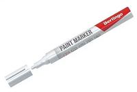 Маркер-краска BERLINGO 2-4 мм, белый