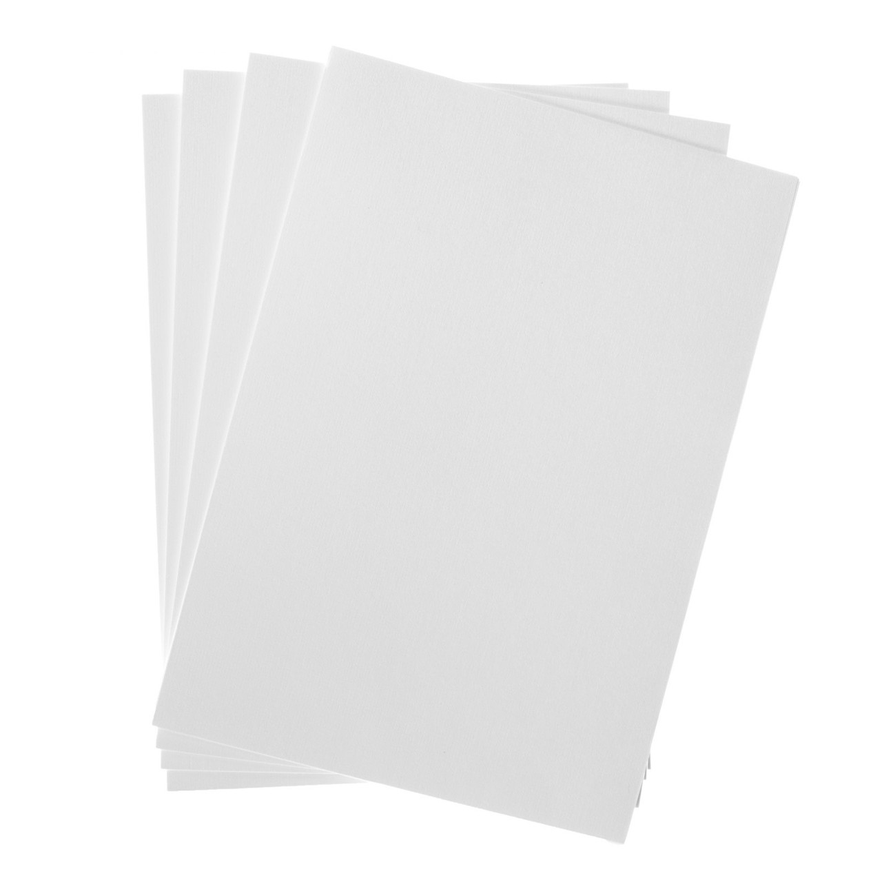 Бумага для рисования А4, 50 листов с тиснением «Холст», 200 г/м²