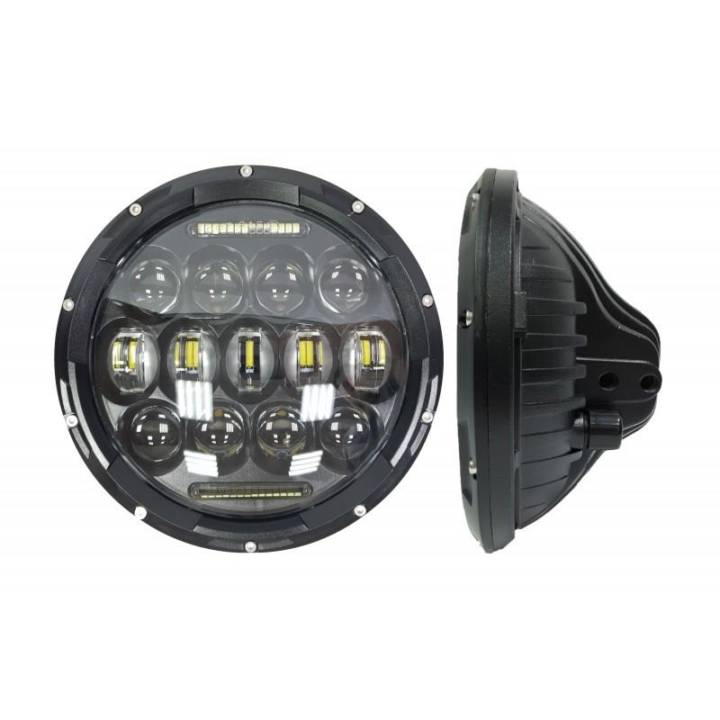 Светодиодные фары головного света с ДХО 7 дюймов 150