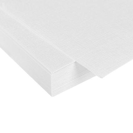 Бумага для рисования А4, 50 листов с тиснением «Лён», 200 г/м²