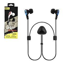 Bluetooth гарнитура BYZ YS033 Sport Earphone Black/Blue