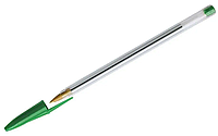 Ручка шариковая OfficeSpace 0.7 мм, зеленая