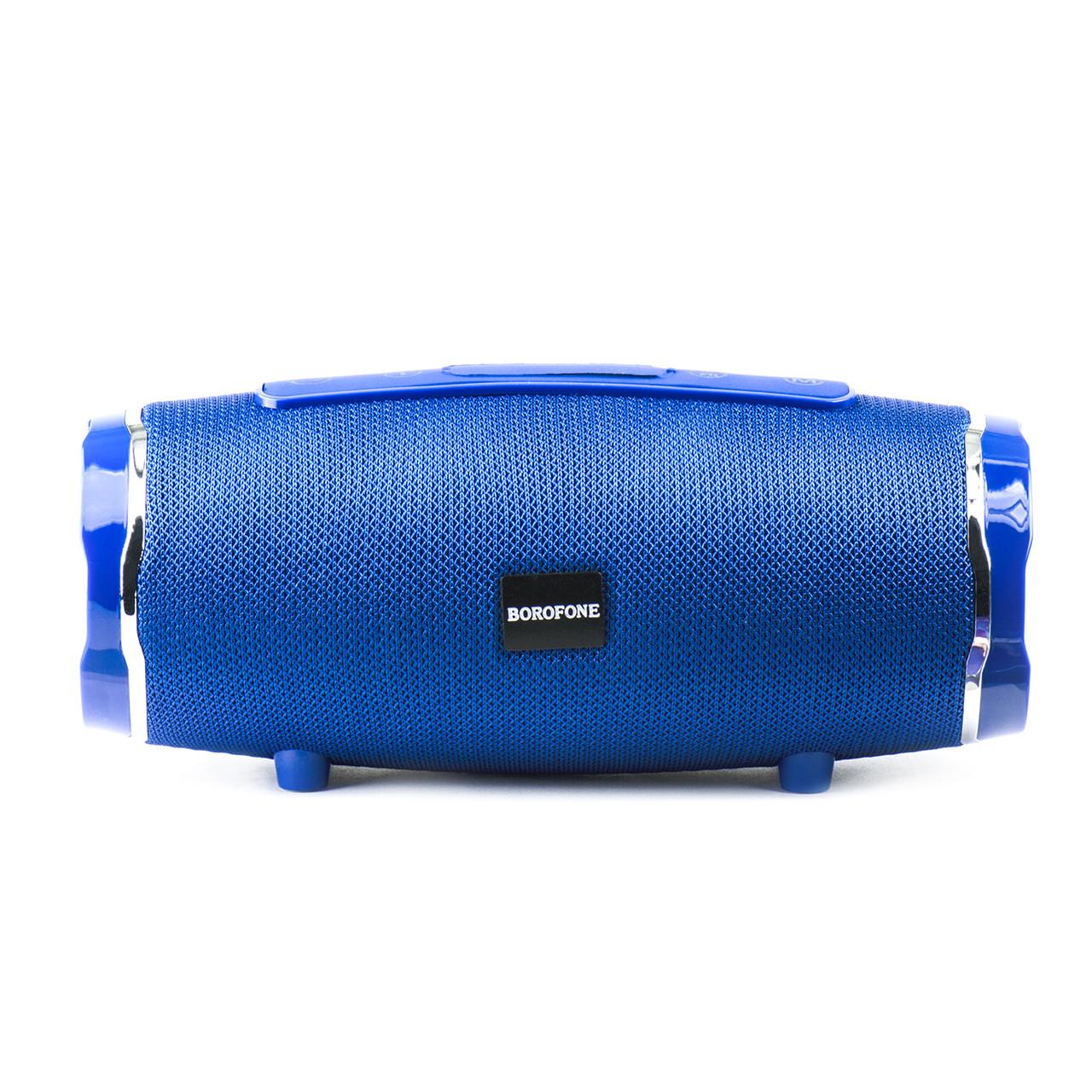 Портативная акустическая система Bluetooth Borofone R3, Blue
