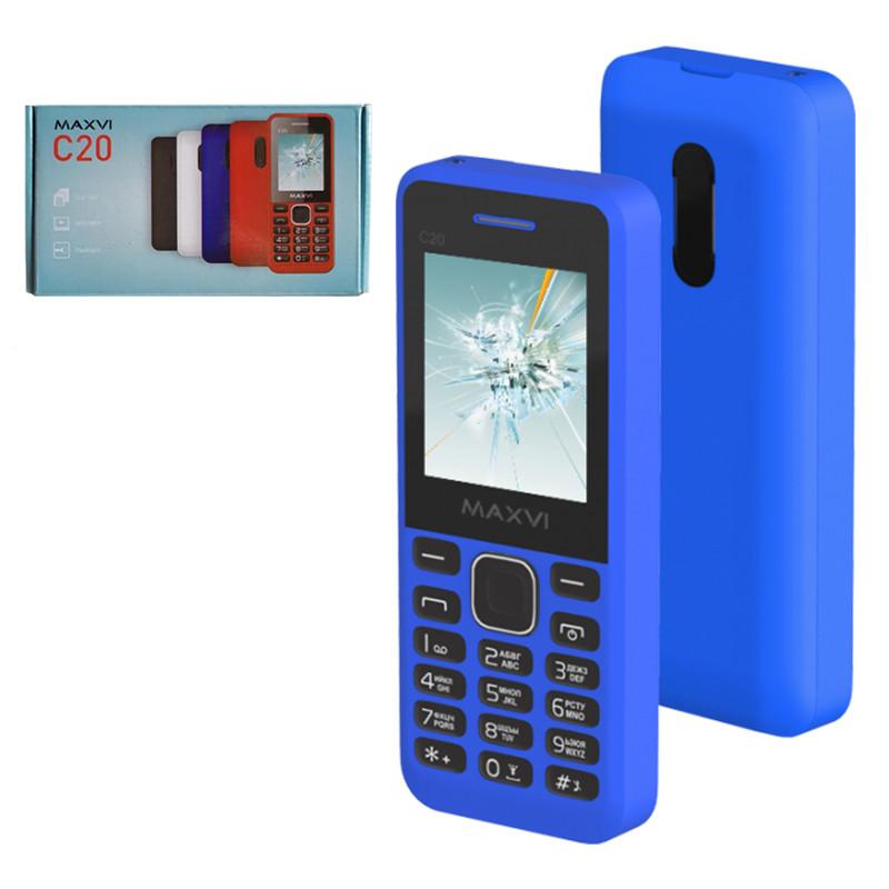 Мобильный телефон Maxvi C20, Blue