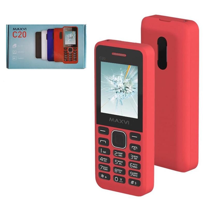 Мобильный телефон Maxvi C20, Red