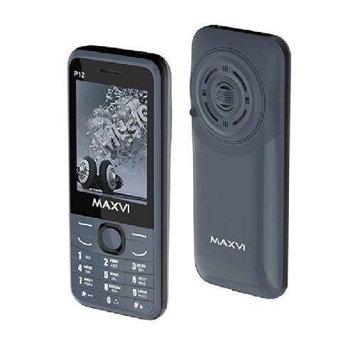 Мобильный телефон Maxvi P12, Black