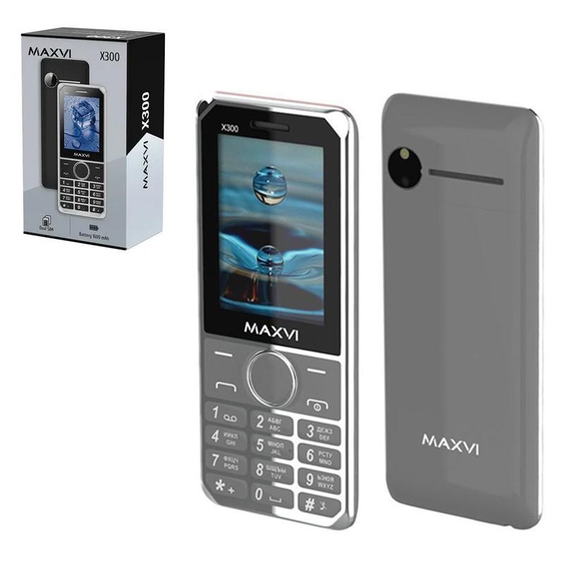 Мобильный телефон Maxvi X300, Grey