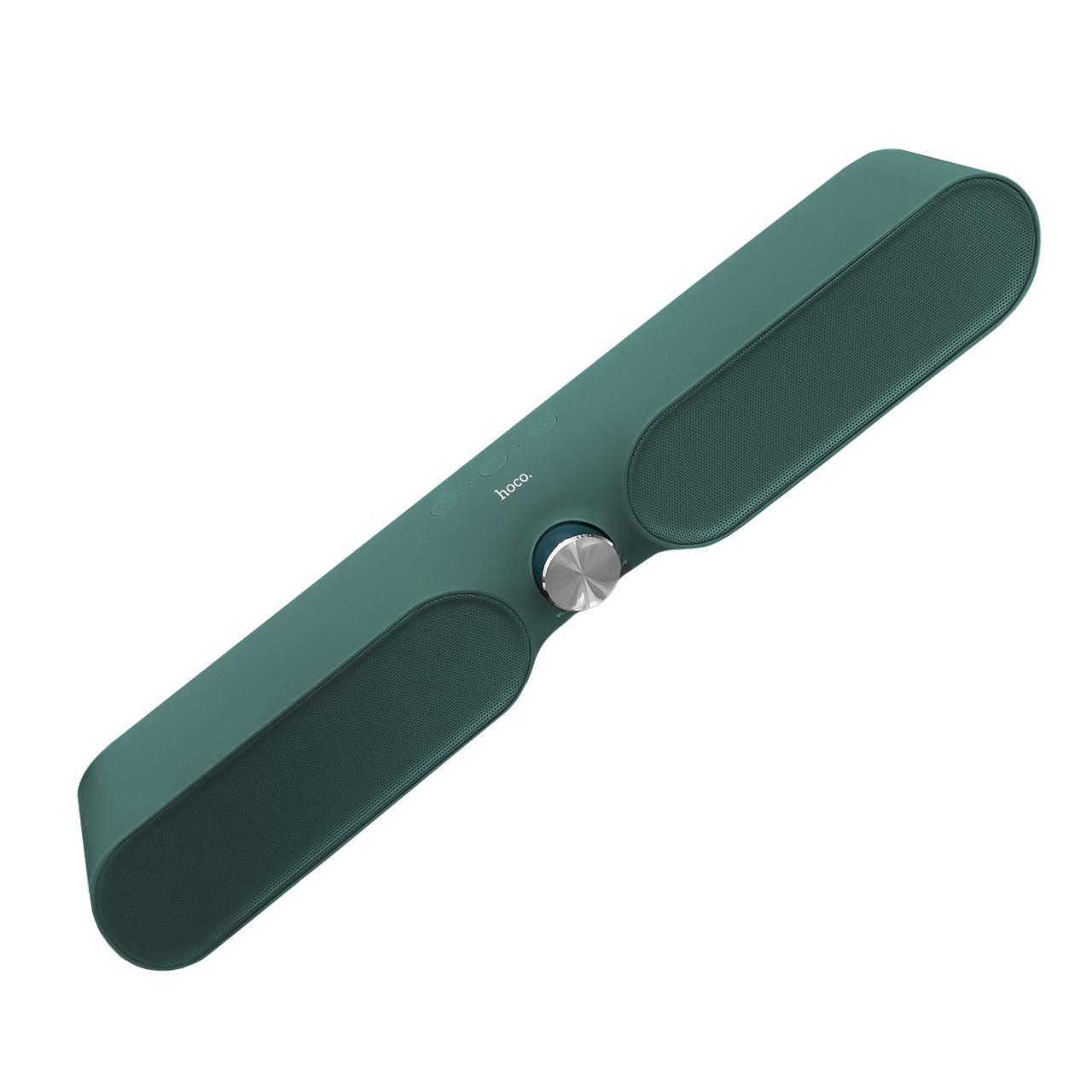 Портативная акустическая система Bluetooth Hoco BS32, Green
