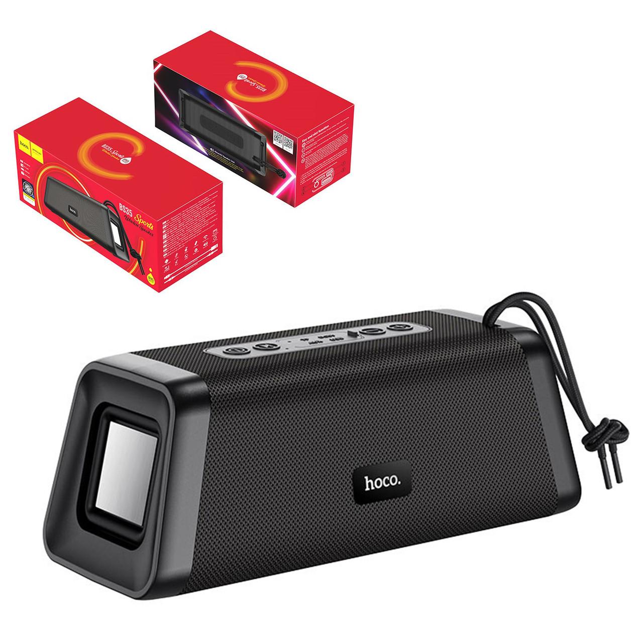Портативная акустическая система Bluetooth Hoco BS35 Classic sound sports, Black