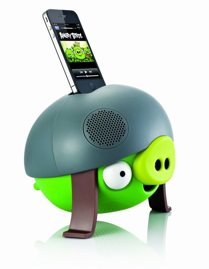 Портативная акустическая система dock station Gear4 Helmet pig Angry Birds