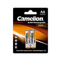 CAMELION, Rechargeable, Ni-MH, NH-AA1800BP2, 1800 мА/ч, (2 шт.), аккумулятор