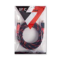 Интерфейсный кабель, HDMI-HDMI, SVC, HR0300RD-P, 30В, Красный, Пол. пакет, 3 м