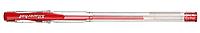 """Ручка гелевая SILWERHOF """"Laconic"""" 0,7 мм, красная"""