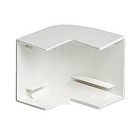 Угол внешний, РУВИНИЛ, УВШ-16х16, для РКК-16х16, Белый, (20 штук в пакете)