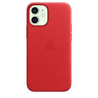 Оригинальный кожаный чехол для Apple IPhone 12 mini с MagSafe - (PRODUCT)RED